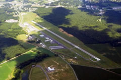 Aerial photo of KCGE (Cambridge-Dorchester Regional Airport)