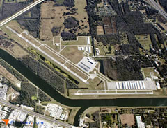 Aerial photo of KVDF (Tampa Executive Airport)