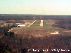 Aerial photo of 6D6 (Greenville Municipal Airport)