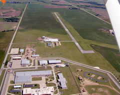 Aerial photo of 9K7 (Ellsworth Municipal Airport)