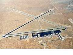 Aerial photo of KLRU (Las Cruces International Airport)