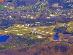 Aerial photo of KPSF (Pittsfield Municipal Airport)