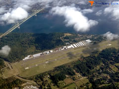 Aerial photo of KTIW (Tacoma Narrows Airport)