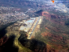Aerial photo of KSEZ (Sedona Airport)