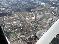 Aerial photo of KDAB (Daytona Beach International Airport)