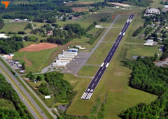 Aerial photo of KMWK (Mount Airy/Surry County Airport)