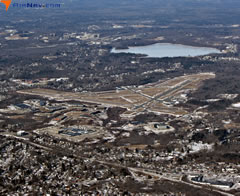 Aerial photo of KBVY (Beverly Regional Airport)