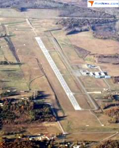 Aerial photo of KCRX (Roscoe Turner Airport)