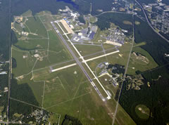 Aerial photo of KACY (Atlantic City International Airport)
