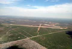 Aerial photo of 5T9 (Maverick County Memorial International Airport)