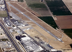 Aerial photo of KDLO (Delano Municipal Airport)