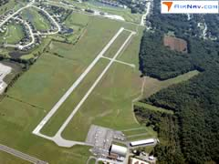 Aerial photo of 1G3 (Kent State University Airport)