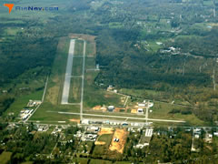 Aerial photo of KBVX (Batesville Regional Airport)