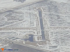 Aerial photo of KMJQ (Jackson Municipal Airport)