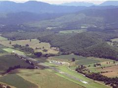 Aerial photo of 6A4 (Johnson County Airport)