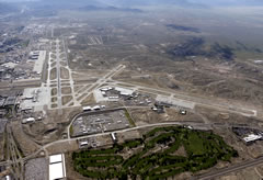 Aerial photo of KABQ (Albuquerque International Sunport Airport)