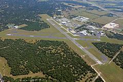 Aerial photo of KGTU (Georgetown Municipal Airport)