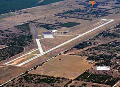 Aerial photo of KBKS (Brooks County Airport)