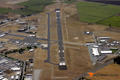 Aerial photo of KMCE (Merced Regional Airport/Macready Field)