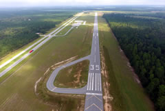 Aerial photo of 2J5 (Millen Airport)