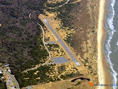 Aerial photo of KHSE (Billy Mitchell Airport)