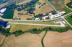 Aerial photo of KIDG (Ida Grove Municipal Airport)