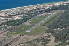 Aerial photo of KPVC (Provincetown Municipal Airport)