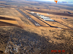 Aerial photo of KGNG (Gooding Municipal Airport)