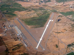 Aerial photo of KELN (Bowers Field Airport)
