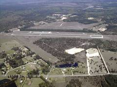 Aerial photo of 45R (Hawthorne Field Airport)