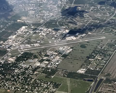 Aerial photo of X14 (La Belle Municipal Airport)