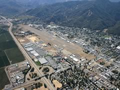 Aerial photo of KUKI (Ukiah Municipal Airport)