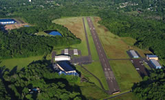 Aerial photo of KCKZ (Pennridge Airport)