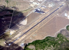 Aerial photo of KPNA (Ralph Wenz Field Airport)