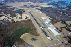 Aerial photo of KPLR (St Clair County Airport)