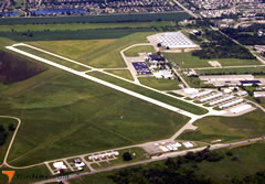 Aerial photo of KARB (Ann Arbor Municipal Airport)