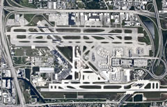 Aerial photo of KFLL (Fort Lauderdale/Hollywood International Airport)
