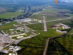 Aerial photo of KHUM (Houma-Terrebonne Airport)