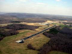 Aerial photo of 2A1 (Jamestown Municipal Airport)