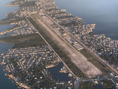 Aerial photo of KMTH (The Florida Keys Marathon International Airport)