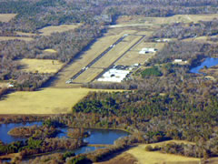 Aerial photo of KJDD (Wood County Airport)