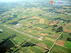 Aerial photo of KSHD (Shenandoah Valley Regional Airport)