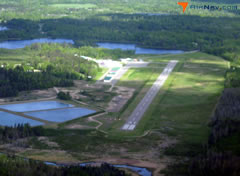 Aerial photo of KXVG (Longville Municipal Airport)