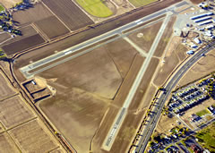 Aerial photo of KWLW (Willows-Glenn County Airport)