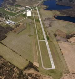 Aerial photo of KANQ (Tri-State Steuben County Airport)