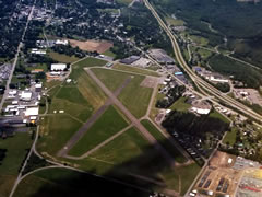 Aerial photo of KDSV (Dansville Municipal Airport)