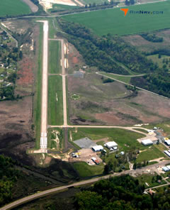 Aerial photo of M36 (Frank Federer Memorial Airport)