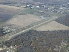Aerial photo of 4R7 (Eunice Airport)
