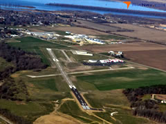 Aerial photo of C75 (Marshall County Airport)