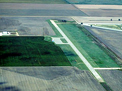 Aerial photo of K79 (Jetmore Municipal Airport)